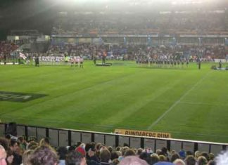 2008 RLWC England and New Zealand in Newcastle