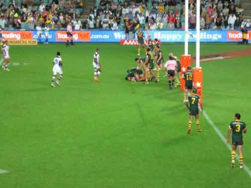 2008 RLWC Semi Final Fiji just can't get through