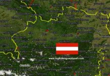 Austria Rugby League map