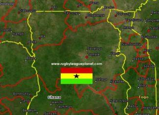 Ghana Rugby League map