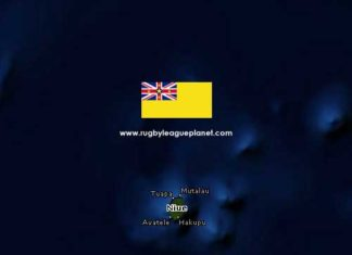 Niue Rugby League map