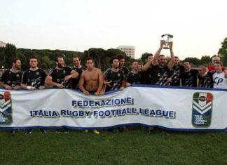 Gladiators Roma FIRFL 2012 Winners