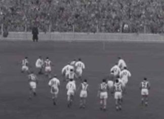 1957 Rugby League World Cup Great Britain vs France at Sydney Cricket Ground