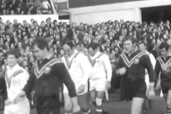 1970 Rugby League World Cup Final Great Britain v Australia