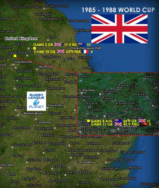 1985 to 1988 Rugby League World Cup map 3