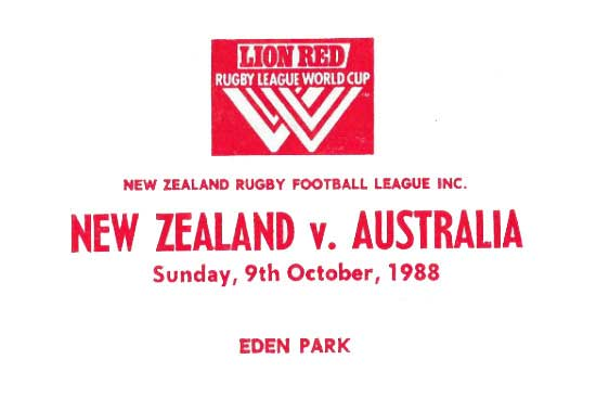 1985 to 1988 Rugby League World Cup map 1
