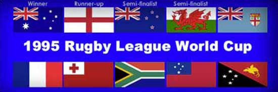 1995 Rugby League World Cup teams