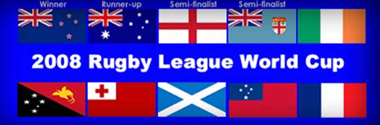 2008 Rugby League World Cup teams