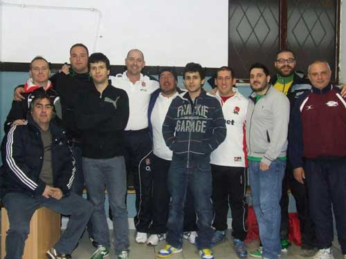 FIRFL coaches in Rome