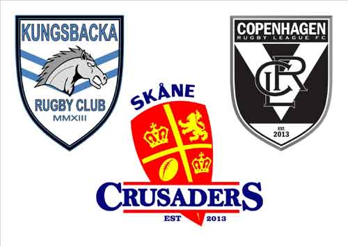 Sweden Rugby League team logo's