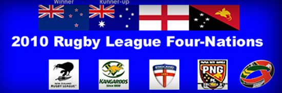 2010 Rugby League Four Nations teams