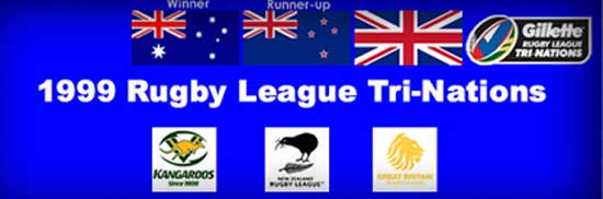 1999 Rugby League Tri-Nations teams