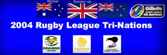 2004 Rugby League Tri-Nations teams
