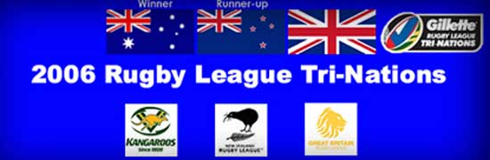 2006 Rugby League Tri-Nations teams