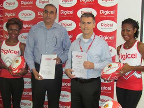 Digicel announce partnership with PNGRL
