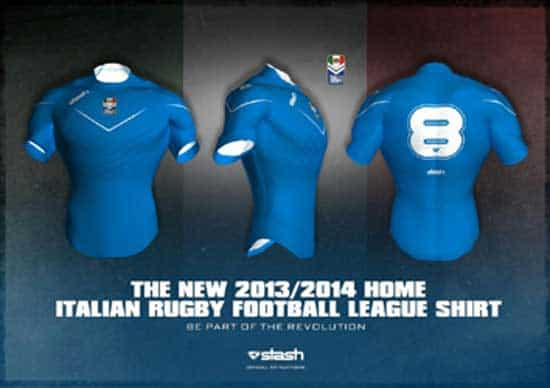 New Italian Rugby League (FIRFL) Jersey