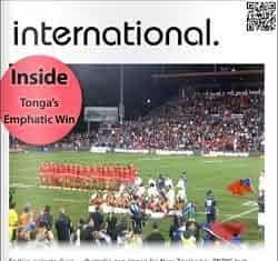 International - Rugby League Magazine April
