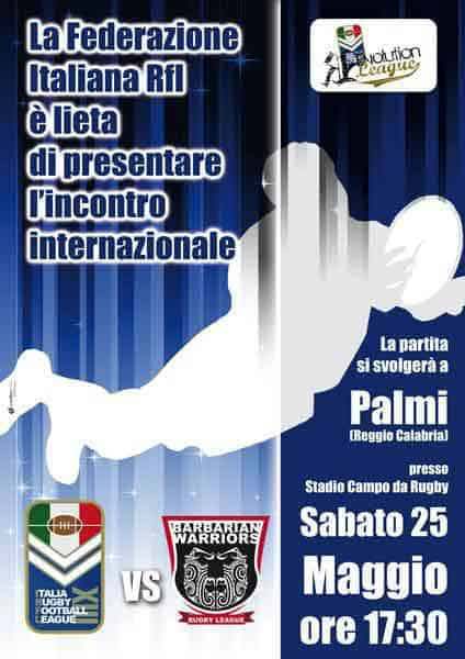 Italy Rugby League International