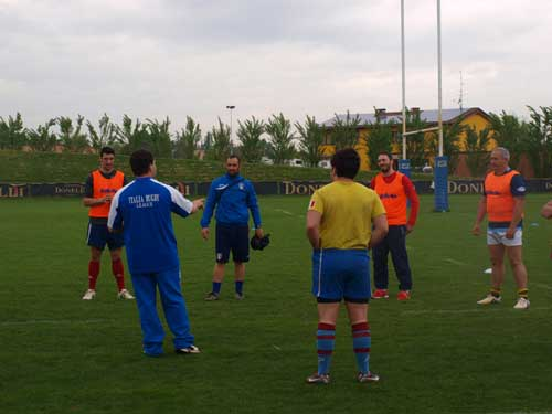 Italy train rugby league coaches