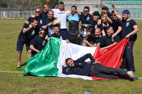USAG Roma Squad Champions post game