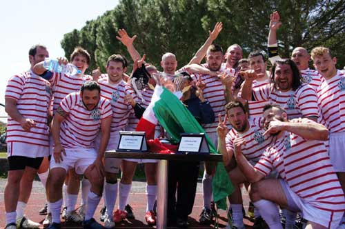 USAG Roma Squad Champions