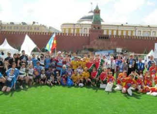 Russia Rugby League Red Square
