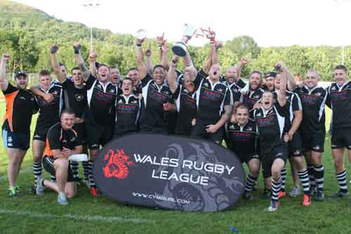 2013 WRL Senior winner Torfaen Tigers