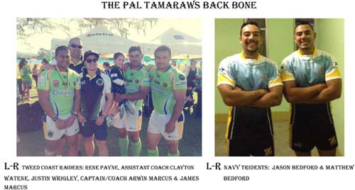 Philippines Rugby League back bone