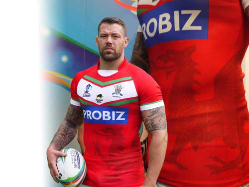 Wales Rugby League kit