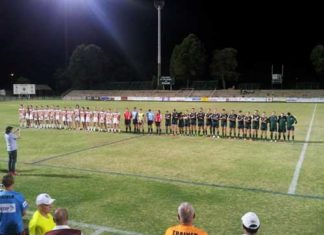 NSW Country v South Africa