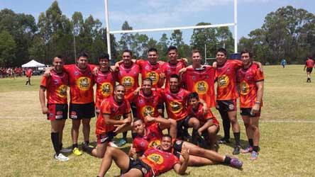 Latin Heat team 2014 Cabramatta International 9's