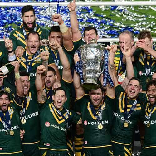 2013 RLWC winners Australia