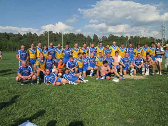 Russian Rugby League v Ukraine 2014