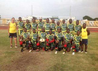 Ghana Rugby League Jersey