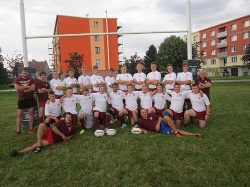 Czech vs Latvia Rugby League 3