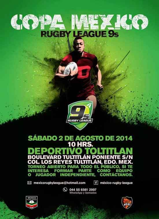 Mexico Rugby League 9's