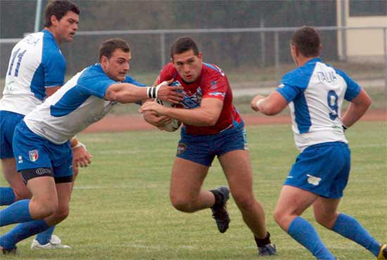 Serbia defeat Italy in 2014 Rugby League European Cup