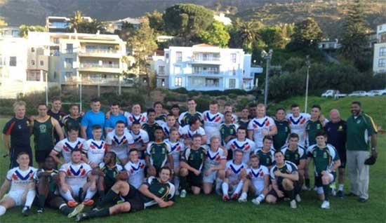 South Africa Rugby League GB Tour