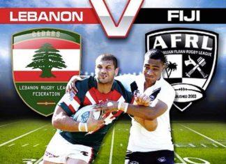 Fiji vs Lebanon rugby league international