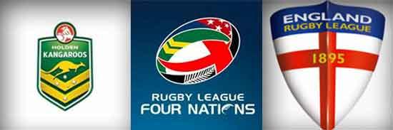 2014 4 Nations Australia vs England