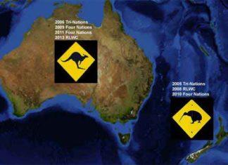 Australia vs New Zealand Rugby League comparison