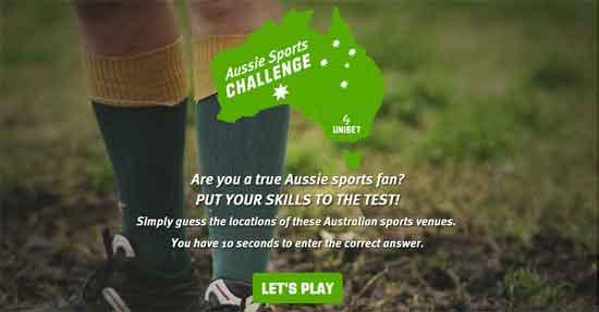Aussie Sports Challenge