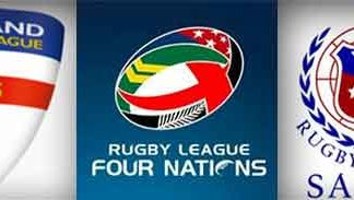 4 Nations England v Samoa