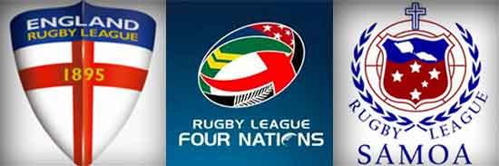 2014 Four Nations England vs Samoa