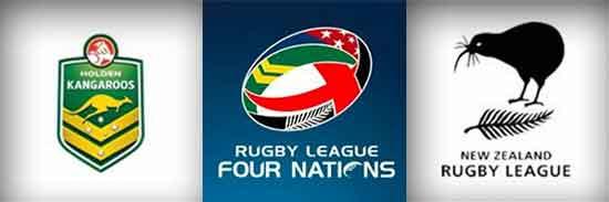 2014 RL 4 Nations Australia vs New Zealand