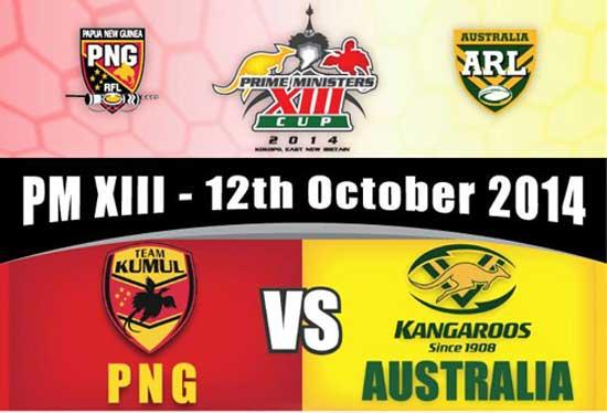 2014 PM13 Australia vs PNG