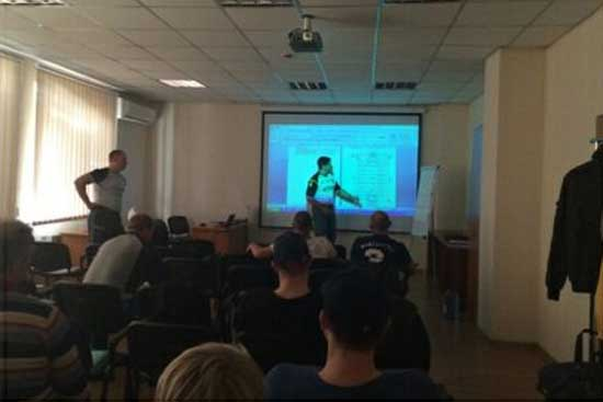 2014 Ukraine Rugby League coaching course