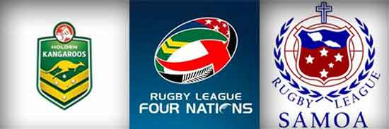 2014 4 Nations Australia vs Samoa