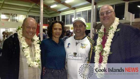 Nigel Wood Visits Cook Islands Rugby League