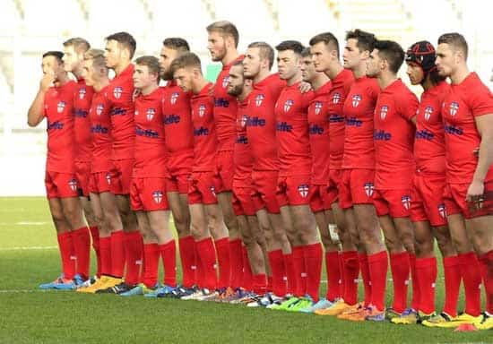 England Rugby League Academy Side (Photo by SWpix)